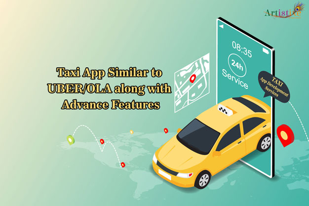 Taxi App Similar to UBER/OLA Along with Advance Features